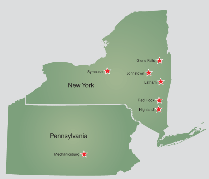 C.T. Male Office Locations Throughout NY State & Central Pennsylvania