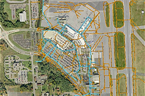 GIS-Based Pavement and Facilities Management