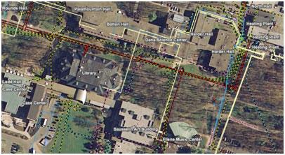 Skidmore College – Facility Management (GIS & Survey)
