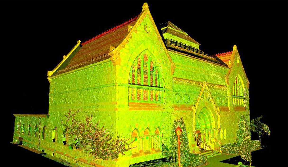 Pittsfield Probate Court (Athenaeum) Laser Scan