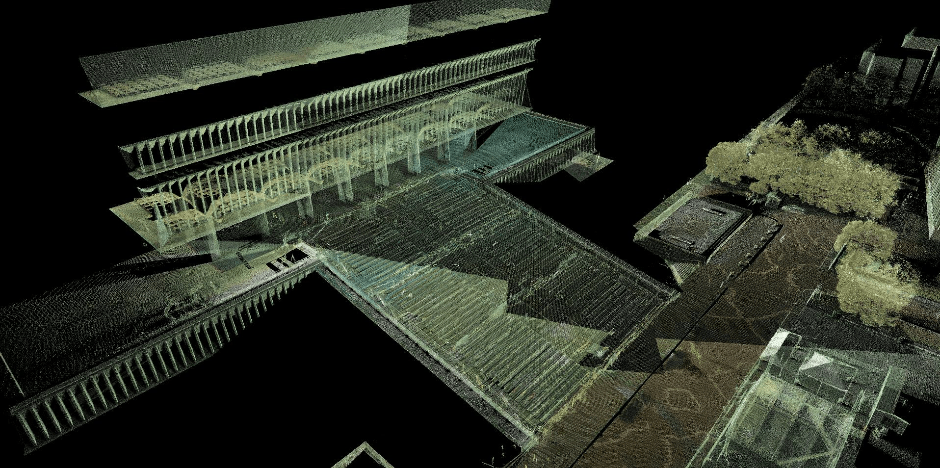 Plaza Stairs 3D scan3_Website
