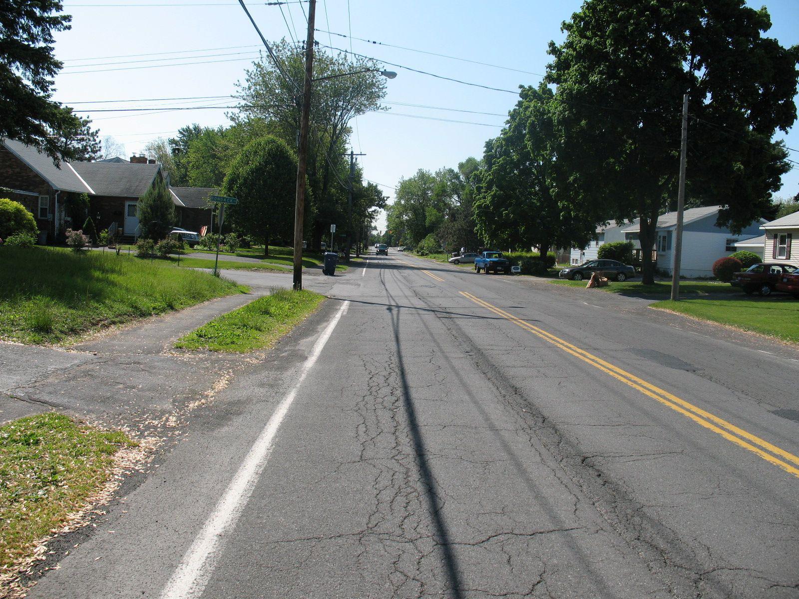 Sand Creek Road - Before 1