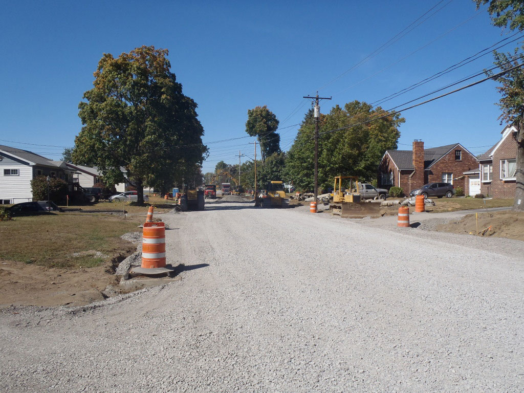 Sand Creek Road - During 1