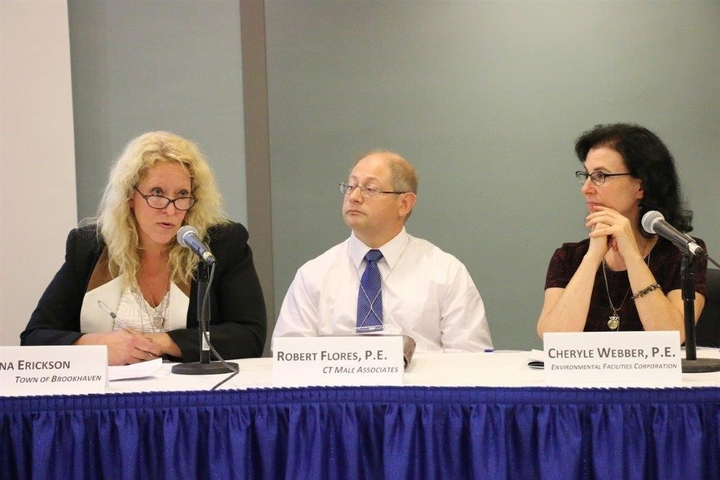 C.T. Male Civil Project Manager Robert Flores on panel at New York State MWBE Conference