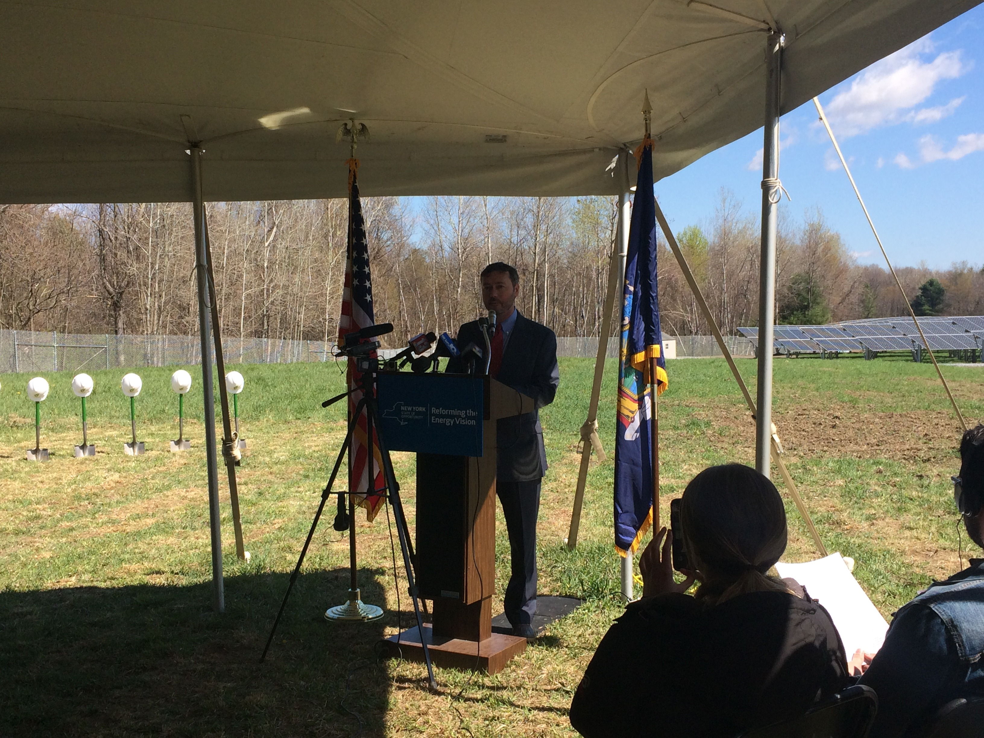 Halfmoon Community Solar Energy Project Speakers