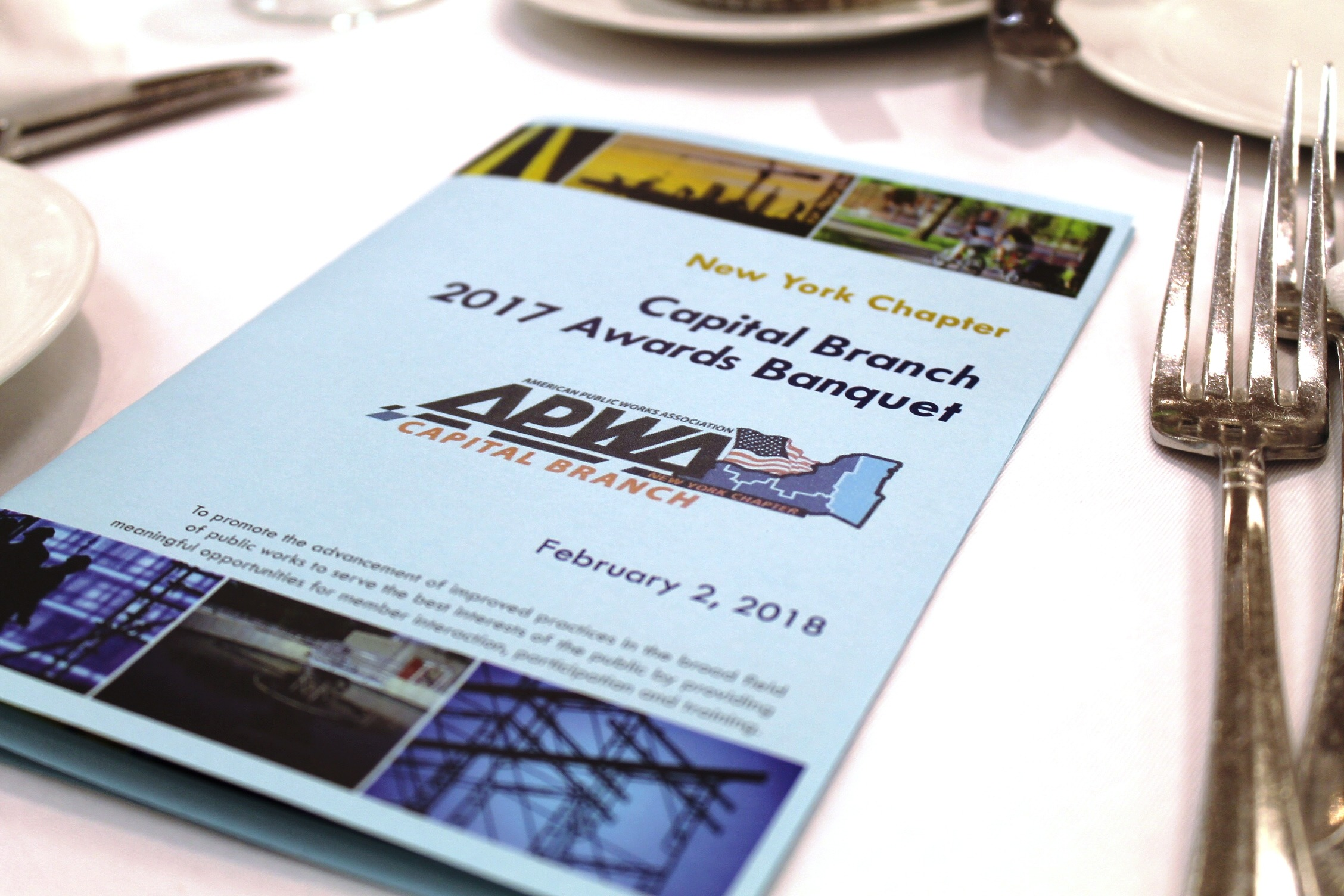 C.T. Male Associates Wins American Public Works Association - Capital Branch 2017 Project of the Year Award