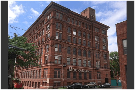 former Mooradian Furniture building redeveloped into affordable housing in Troy, NY