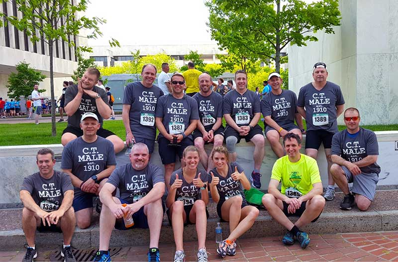 C.T. Male Associates employees participating in annual Workforce Team Challenge