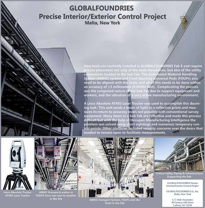 Global Foundries Precises Interior/Exterior Control Project