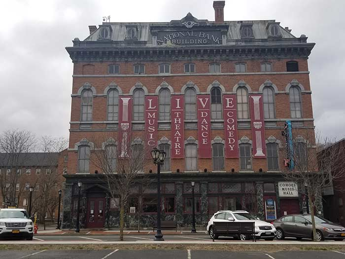 Cohoes music Hall project2