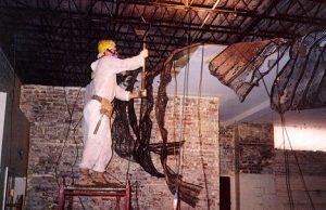 asbestos expert removing hazardous material