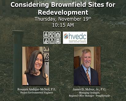 Brownfield Redevelopment event graphic